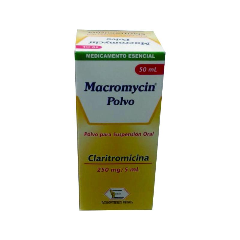 Macromycin Polvo 250mg Caja Con Fco 50 Ml Droguerias Farmaya Online